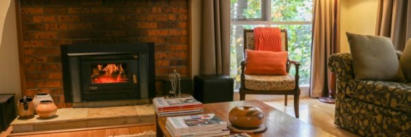 Cosy, relaxing, fireplace, warm, comfortable, living area, accommodation, weekend getaway near Melbourne, outer Melbourne, cottage