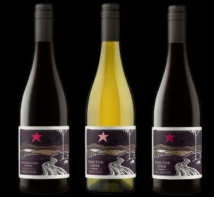 Lone Star Pinot Gris, Pinot Noir, Lone Star Red